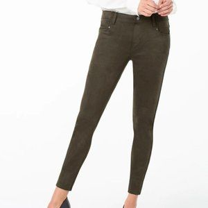 Liverpool Abby Ankle Stretch Faux Suede Skinny, 2